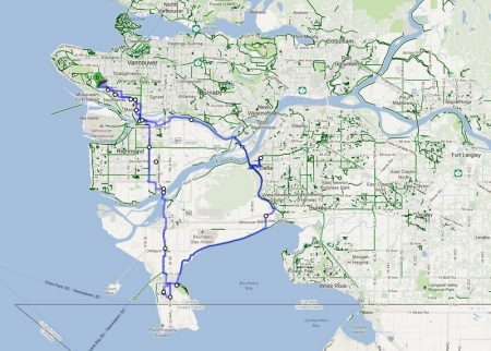 Boundary Bay Cycling Day Trip