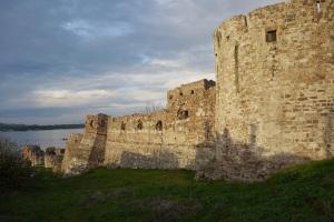 Castle wall in Mitilini