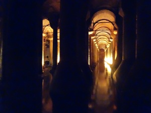 Cistern water storage facility built in Roman times.