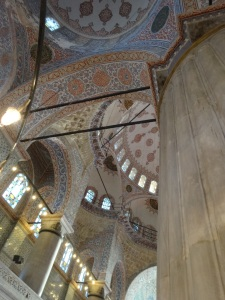 Ceiling of Blue Mosque