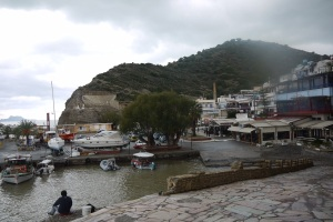 The harbour at Agia Galini