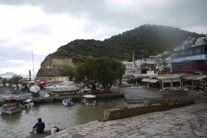 The harbour at Agia Galini