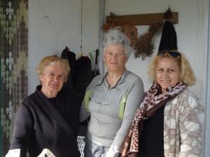Margo, Despina, and her mum.