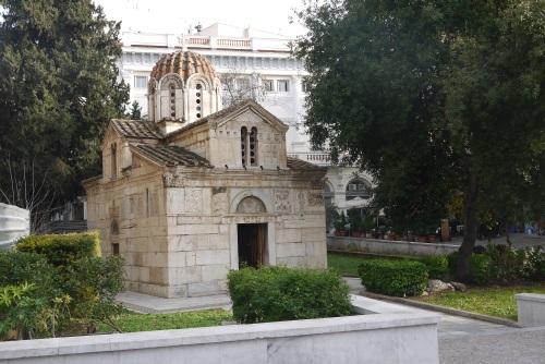Byzantine Church, probably built early in the 13th century.  (Church of Theotokos Gorgoepikoos & Ayios Eleytherios)