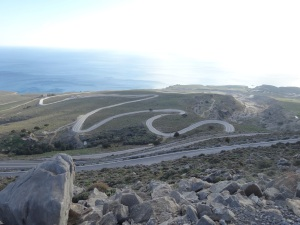 Switchbacks to the Libyan Sea