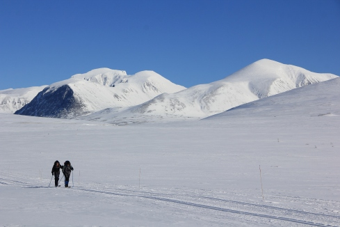 Chris and Margo skiing at Rondane. Anybody want to join us next year?